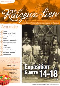 Raizeulien Nov 2014 couverture